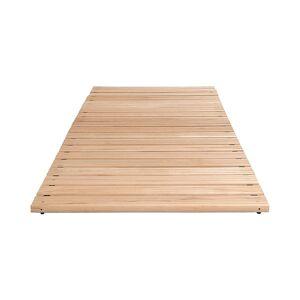 Holzlaufrost, pro lfd. m ohne Anschrägung Breite 800 mm