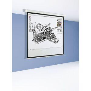 Lichtbildwand, stationär Bildwandformat 1 : 1 Bildfläche BxH 1470 x 1530 mm