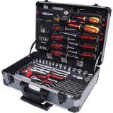 KS Tools 1/4'' + 1/2'' Universal-Werkzeug-Satz 130 Teile 6-kant
