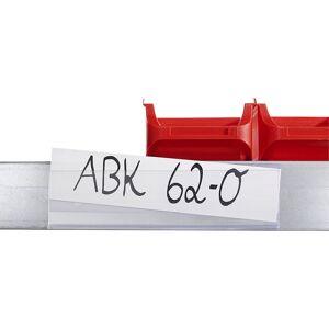 Tickethalter selbstklebend HxB 25 x 1000 mm, VE 10 Stk