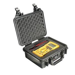 PELI Hartschalenkoffer Inhalt 4,5 l mit Würfelschaum, schwarz