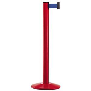 Gurtpfosten Aluminium, rot Gurtfarbe Blau