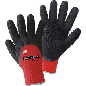 Handschuhe GLACIER-GRIP schwarz / rot, VE 12 Paar Größe 8