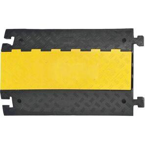 Kabelbrücke, groß Normelement schwarz / gelb
