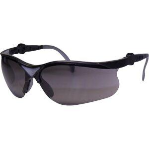IONIC Schutzbrille mit UV-Schutz Sichtscheibe grau grau/schwarz, ab 10 Stk