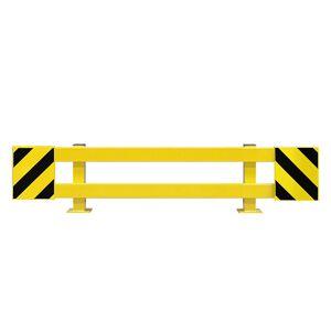 Regalschutz-Planken-Set für Doppelregal, ausziehbar 1700 - 2100 mm außen