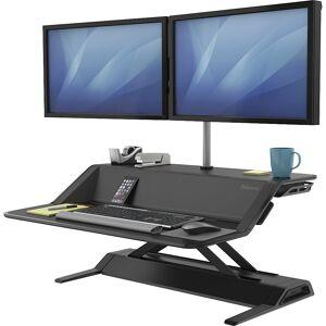 Fellowes Lotus™ Sitz-Steh-Workstation HxBxT 140 x 832 x 616 mm schwarz