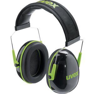 Uvex Kapselgehörschutz K1 mit Bügel, SNR 28 dB schwarz/grün