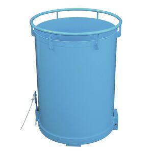 Rundbehälter, Bodenentleerung Volumen 0,45 m³ lichtblau RAL 5012