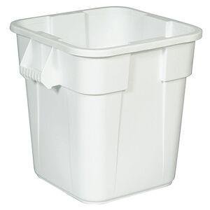 Rubbermaid Universalcontainer BRUTE, quadratisch Inhalt ca. 151 l weiß