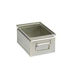 Stapelkasten aus Stahlblech Inhalt ca. 9 l verzinkt