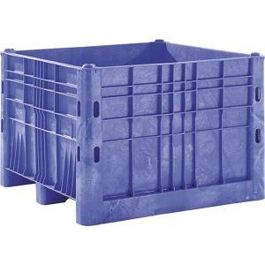 Großbehälter aus Polyethylen Inhalt 700 l Ausführung 2 Kufen, 2 Füße, ab 6 Stk