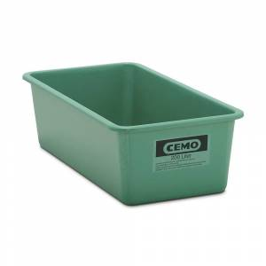 CEMO Großbehälter aus GfK Inhalt 200 l, LxBxH 1218 x 620 x 358 mm grün