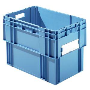 Drehstapelkasten Inhalt 78 Liter, Wände und Boden geschlossen, VE 4 Stk blau