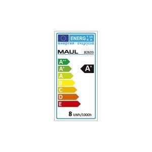 MAUL LED-Lupenleuchte MAULmakro mit Klemmfuß schwarz