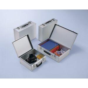ZARGES Alukoffer Inhalt 15 l Außen-LxBxH 370 x 330 x 145 mm, Gewicht 1,8 kg