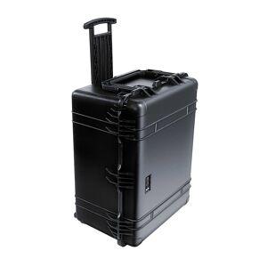 PELI Hartschalenkoffer Inhalt 147 l, mit Rollen und Handgriff mit Würfelschaum, schwarz