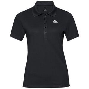 Odlo Polo shirt s/s GEORGIA RT black S