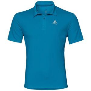 Odlo Herren CARDADA Poloshirt blue jewel S