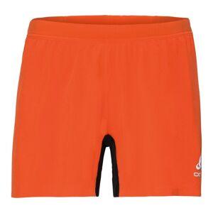 Odlo Herren ZEROWEIGHT X-LIGHT Shorts flame - black S