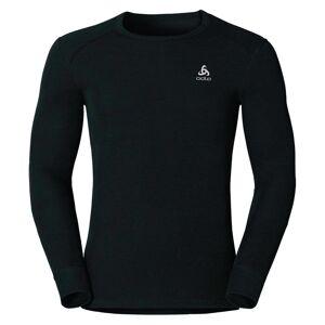 Odlo Herren ACTIVE WARM Funktionsunterwäsche Langarm-Shirt black XS