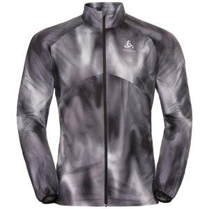 Odlo Herren OMNIUS LIGHT Jacke odlo concrete grey - black - AOP FW18 M