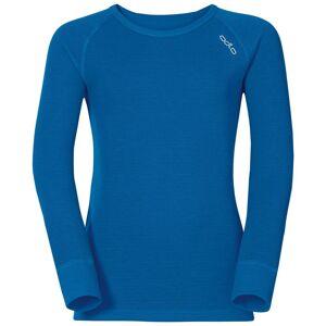 Odlo ACTIVE WARM KIDS Funktionsunterwäsche Langarm-Shirt directoire blue 140
