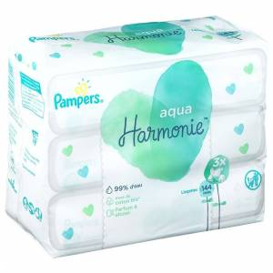 P&G HEALTH FRANCE Pampers Aqua Harmonie™ Windeln