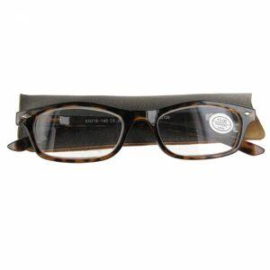 Pharma Glasses Lesebrille braun + 3.00