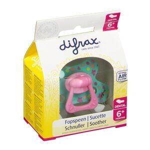 difrax® Schnuller - Dental Mädchen +6 Monate