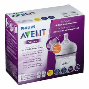 Avent Philips Avent Naturnah Flasche 2x 125 ml