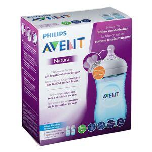 Avent Philips Avent Naturnah Flasche 2 x 260 ml Blau
