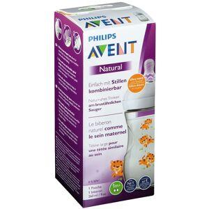 Avent Philips Avent Naturnah Flasche 260 ml mit Tigerdesign