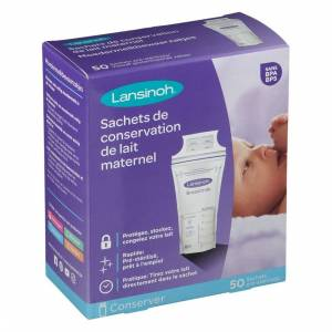 LANSINOH LABORATORIES BENELUX Lansinoh® Beutel zur Aufbewahrung von Muttermilch