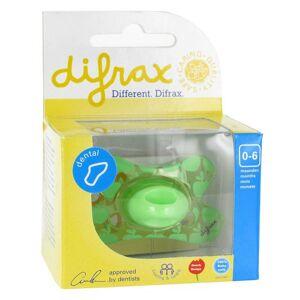 difrax® Schnuller - Dental Junge 0-6 Monate