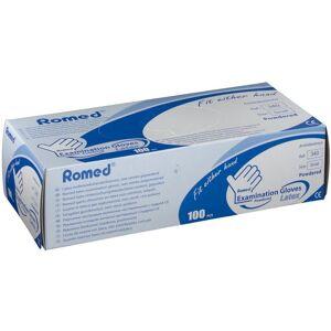 JERLO Romed® Untersuchungs-Handschuhe Größe S, Gepudert, Nicht Steril