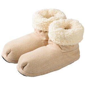 Greenlife Value GmbH Warmies® Slippies Comfort Boots beige 37-41