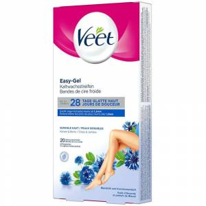 Reckitt Benckiser Deutschland GmbH Veet® Hair Minimizer Enthaarungsstreifen Sensitive