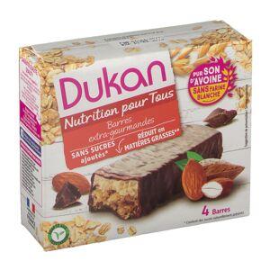 Dukan® Haferkleierriegel im Schokomantel