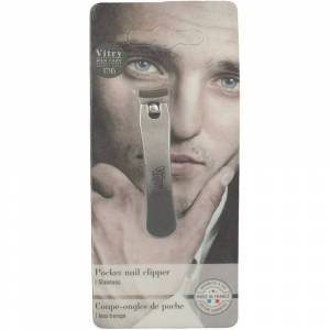 Vitry Taschen-Nagelknipser Edelstahl rostfrei