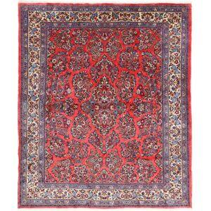 Nain Trading Sarough 255x218 Dunkelbraun/Rosa (Wolle, Persien/Iran, Handgeknüpft)