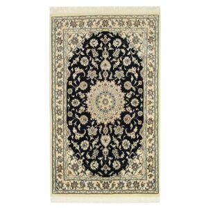 Nain Trading Persischer Nain 9La Teppich 175x103 Läufer Dunkelgrau/Beige (Wolle, Persien/Iran, Handgeknüpft)
