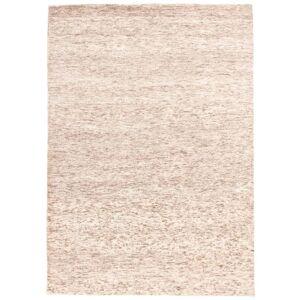 Nain Trading Echter Teppich Streaked 232x165 Beige (Wolle, Indien, Handgeknüpft)