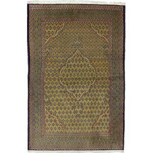Nain Trading Perserteppich Ghom 199x129 Dunkelbraun (Handgeknüpft, Persien/Iran, Wolle)