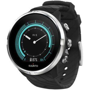 Suunto 9 GPS Multisportuhr - One Size Schwarz/Silber   Sportuhren