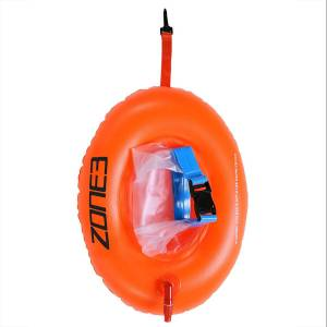 Zone3 On the Go Swim Safety Boje (mit Trockensack) - Einheitsgröße