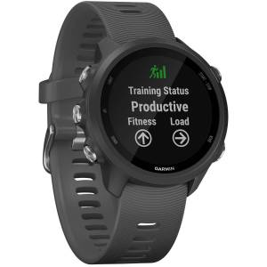 Garmin Forerunner 245 GPS Laufuhr - One Size Black / Slate