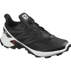 Salomon Supercross Blast Schuhe - UK 12.5 Schwarz/Weiß   Trailschuhe