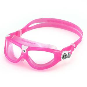 Aqua Sphere Seal 2 Schwimmbrille Kinder - One Size Pink/Clear