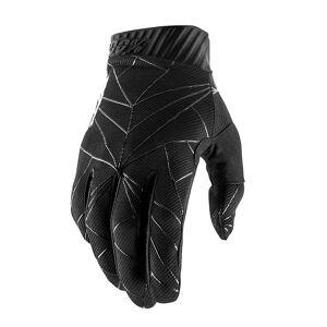100% RideFit Handschuhe SS19 Black